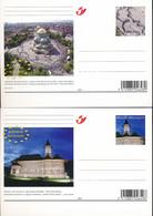 BELGIUM BELGIQUE PPS CARTES POSTALES COB BK173/174 UNUSED - Postales [1951-..]