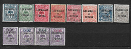 W&F2 -Wallis & Futuna N°18 à N°29 Neuf Ou Oblitéré 12 Valeur CV + De 16,00 Euros - Unclassified