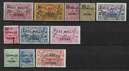 W&F3 -Wallis & Futuna Entre N°30 à N°42 Neuf Ou Oblitéré 11 Valeur CV + De 41,00 Euros - Unclassified
