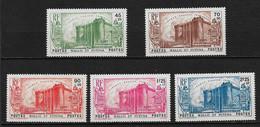 W&F6 -Wallis & Futuna N°72 à N°76 Neuf Charnière 5 Valeur CV + De 125,00 Euros - Unclassified