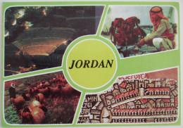 KINGDOM JORDAN WADI RUM DESERT PETRA RED SEA MOUNTAIN POSTCARD CARTOLINA KARTE CPM PICTURE ANSICHTSKARTE CARD PHOTO - Jordan