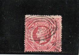 NOUVELLE GALLES DU SUD 1860-72 O ROUGE TERNE - Gebraucht