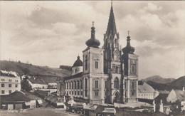 3266) MARIA ZELL - Tolle DETAILS Markt Kirche Häuser ALT !! 1930 - Mariazell