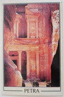 KINGDOM JORDAN OLD CITY DESERT PETRA RED SEA MOUNTAIN POSTCARD CARTOLINA KARTE CPM PICTURE ANSICHTSKARTE CARD PHOTO - Jordan