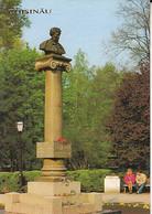 95286- CHISINAU PARK, PUSKIN MONUMENT - Moldavië