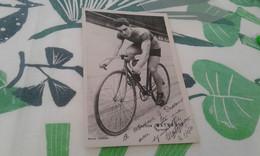 Cpa  Cycliste Carolus Mathé Ron Dédicacés 1930 - Cyclisme