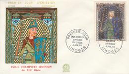 FDC 1964 EMAIL DE CHAMPLEVE - LE MANS - 1960-1969