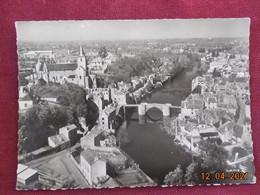 CPSM GF - Montmorillon - Notre-Dame Et Le Vieux Pont - Montmorillon