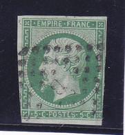 Napoléon, N°12, Cote 95€ ( 2104/001) - 1853-1860 Napoleone III