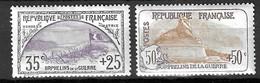France Orphelins YT N° 152 Et N° 153 Neufs *. Gomme D'origine. B/TB. A Saisir! - Neufs