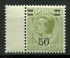 MONACO 1926 N° 105 ** Neuf MNH Superbe Cote 4 € Prince Louis II - Unused Stamps
