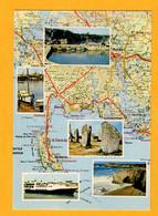 Presqu'ile De Quiberon Et Région D'Auray Edt  Artaud     N° M 24 - Maps