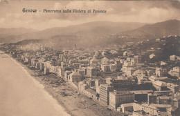 3282) GENOVA - Panorama Sulla RIVIERA Di PONENTE - Häuser ALT !! - Genova