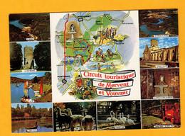 Circuit Touristique De Mervent Et Vouvant  Edt  Artaud     N°  6 - Maps