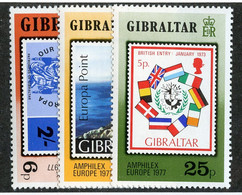 BC 6783 *Offers Welcome* 1977 Sc 356-58 Mnh** - Gibraltar