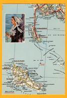 Presqu'ile De Quiberon Et Belle-Ile   Edt  Artaud     N°   24 Bis M - Maps