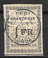 Madagascar Maury N° 12 Oblitéré. Signé Calves. TB. A Saisir! - Gebruikt