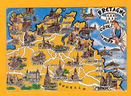 Bretagne Cotes Du Nord    Edt  Artaud     N°  3 - Maps