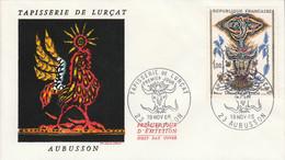 FDC 1966 TAPISSERIE DE LURCAT - 1960-1969