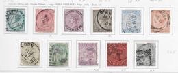 95565) INDIA INGLESE- LOTTO DI FRANCOBOLLI- 1874-79 VITTORIA - USATI+ - Unclassified