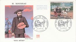 FDC 1967 PEINTURE DE ROUSSEAU - 1960-1969