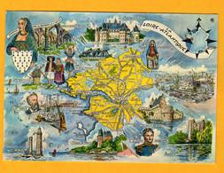 Loire Atlantique   Carte Dessin  Edt  Artaud     N°  11 Bis - Maps