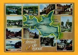 Circuit De L'Argoat   11 Vues   Edt  Artaud     N° - Maps