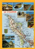 Ile D'Oléron   Carte Michelin  8 Vues    Edt  Artaud     N° 313 - Maps