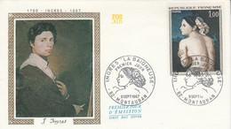 FDC 1967 PEINTURE DE INGRES - 1960-1969