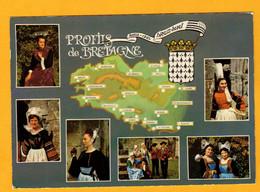 Profils De Bretagne  Coiffes    Edt  Artaud     N° 4 - Maps