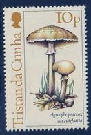 TRISTAN DA CUNHA - Champignons- Y&T N° 350-353 - MNH - 1984 - Tristan Da Cunha