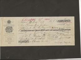 LETTRE DE CHANGE DE 1871 - F.BESNARD GENEST ET BESSONNEAU -ANGERS  - - Bills Of Exchange