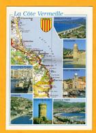 La Côte Vermeille     Edt  SL      N° - Maps