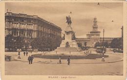 3291) MILANO - Largo CAIROLI Mit Sehr Alter Straßenbahn TOP !! - Milano