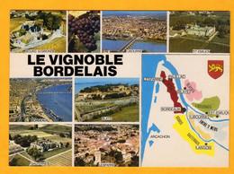 Le Vignoble Bordelais       Edt   Cim     N° - Maps