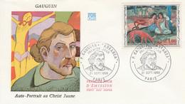 FDC 1968 PEINTURE DE GAUGUIN - 1960-1969