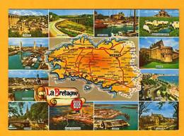 Bretagne  12 Vues    Edt   Dubray      N°  G 39 - Maps