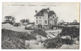 """Cpa: BELGIQUE - COXYDE SUR MER - Villas """"Casablanca"""" """"La Ramée"""" """"La Lisière""""  Ed. O. Gheury  N° 4 - Altri"""