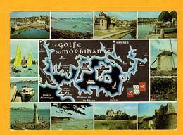 Golfe Du Morbihan     Edt  De Bretagne       N° 8000 - Maps