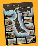 Presqu Ile De Quiberon      Edt  De Bretagne       N° 5100 - Maps
