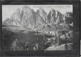 AK 0691  Gröden - Geislergruppe Von Der Mittleren Tischlerspitze Um 1907 - Bolzano (Bozen)