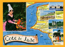 La Côte De Jade  4 Vues      Edt  Guitteny       N°  106 - Maps