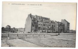 Cpa: BELGIQUE - COXYDE SUR MER - La Chaussée Vers La Mer  N° 3 - Altri