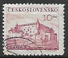 TCHECOSLOVAQUIE     -    1949 .   Y&T N° 514 Oblitéré.  Château De Zvolen - Used Stamps