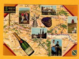 Route Du Champagne       Edt  Freville  N° 720 - Maps