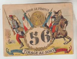 CPSM MILITAIRE BON POUR LE SERVICE - TURAGE AU SORT N° 56 - Kazerne