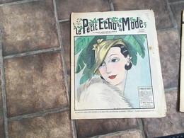 Le Petit écho De La Mode EN L ÉTAT. Magazine De Mode 1932 La Mode Des Bérets - 1900 - 1949