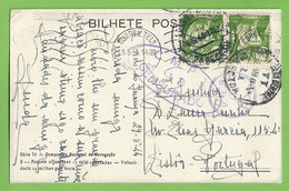História Postal Filatelia Censura Paquete Quanza Navio Barco Paquebot Steamer Ship Censure Philately Lisboa Portugal - Piroscafi