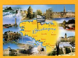 Bretagne  11 Vues        Edt  Yca   N° - Maps