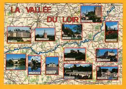 La Vallée Du Loir       Edt  Valoire   N° 567 - Maps
